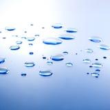 水滴背景 免版税库存图片