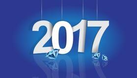 2017年背景 免版税库存图片