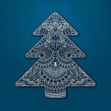 背景bokeh看板卡圣诞节蓬松问候自然装饰品红色结构树向量 免版税库存照片