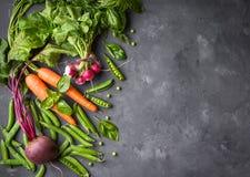 背景cabbadge红萝卜新鲜的玉米以子弹密击蔬菜 库存图片
