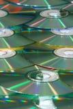 背景CD的垂直 免版税库存图片