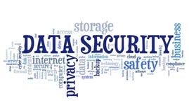 背景CD的数据盘堆积在挂锁安全白色的查出的关键字 向量例证