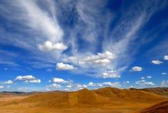 背景cloudscape 库存图片