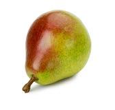背景dof查出的梨成熟浅白色 免版税库存图片