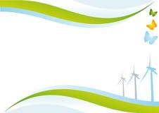 背景eco能源 库存图片