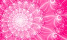 背景fractal49c粉红色 皇族释放例证