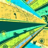 背景grunge减速火箭的向量 库存例证
