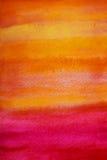 背景grunge橙红黄色 库存图片