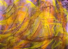 背景grunge淡色紫色系列 免版税库存图片