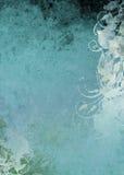 背景grunge深青色 免版税库存图片