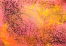 背景grunge粉红彩笔系列 图库摄影