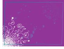 背景grunge紫色 皇族释放例证