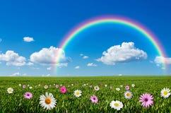 背景illustratin彩虹无缝的诉讼很好导航墙纸 库存照片
