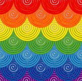 背景illustratin彩虹无缝的诉讼很好导航墙纸 免版税库存图片
