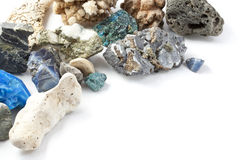 背景minerales 免版税库存图片