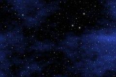 背景starfield 免版税图库摄影