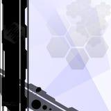 背景techno 免版税库存照片