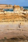 背脊岩层,维多利亚,澳大利亚 库存照片