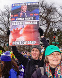 胎儿的权利 免版税库存图片