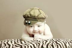 胖的婴孩 库存图片