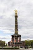 胜利专栏Siegessaule在柏林,德国 免版税库存图片