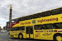 胜利专栏Siegessaule在柏林,德国 库存图片
