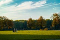 胜利公园 米斯克,比拉罗斯 免版税库存图片