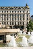 胜利大道的旅馆国会大厦 免版税库存照片