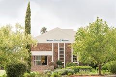 胜利家庭教会在Cradock 免版税库存图片