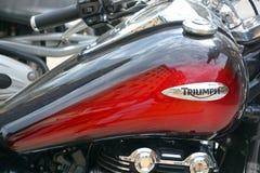 胜利摩托车 库存照片