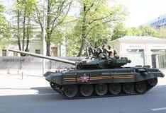 胜利日庆祝在莫斯科,俄国 免版税库存照片