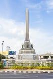 胜利曼谷的纪念碑中心 免版税库存图片