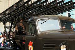 胜利游行的卡秋沙 免版税图库摄影