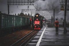 胜利火车运动 库存图片