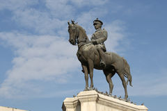 胜利纪念碑在安卡拉 免版税库存照片