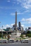 胜利纪念碑在曼谷 库存图片