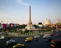 胜利纪念碑泰国 免版税库存照片