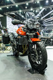 胜利老虎800 XRT摩托车 库存图片