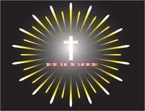 胜利耶稣受难象  库存照片