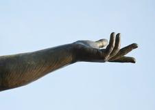 胜利雕象,细节,在圣马克& x27; s正方形,威尼斯,意大利 图库摄影