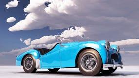 胜利TR汽车在地面站立 免版税库存照片