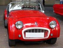 胜利TR3英国汽车 免版税图库摄影