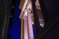 胜者伊曼纽尔的专栏纪念碑II 免版税库存照片