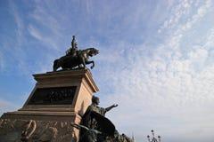 胜者伊曼纽尔II纪念碑 图库摄影