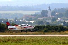 胜者形成小组-杂技飞机 免版税库存图片