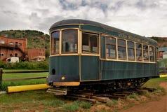 胜者,科罗拉多葡萄酒火车 库存照片