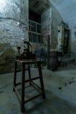 细胞在堡垒13 Jilava监狱,罗马尼亚 免版税图库摄影