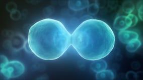 细胞的动画 向量例证