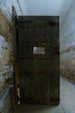 细胞门,堡垒13 Jilava监狱,罗马尼亚 免版税库存图片