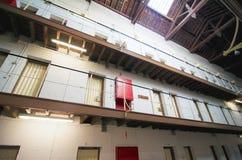 细胞门Fremantle监狱,西澳州 免版税库存照片